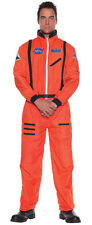 NASA Astronaut Orange Suit Adult Mens Costume Aviation Theme Party Halloween