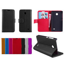 Wallet Flip Leather Case Cove For Nokia X A110 (7 Colors) e