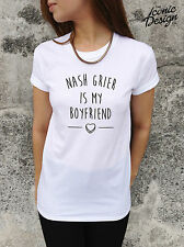 NASH GRIER IS MY BOYFRIEND T-shirt Top Tumblr Dope Vine You Got a Bae Or Nah?