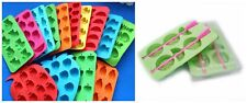 W.W Multi Fruit Slice Shape DIY silicone ice cube mold tray for Bar  Kitchen