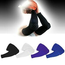 Honeycomb Pad Crashproof Cycling Basketball Arm Elbow Knee Leg Sleeve Protector