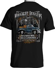 Vintage Truck T Shirt Moonshine Runner Rat Rod 1949 Chevy Pickup S to 6XL & Tall