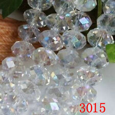 Wholesale ! ! SWAROVSKI Clear White +AB Crystal Faceted Gems Loose Beads