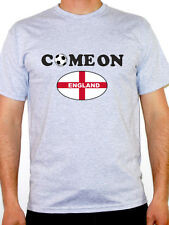 COME ON ENGLAND - St George Flag / Football / Novelty / Fun Themed Mens T-Shirt