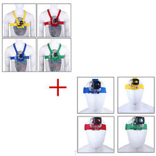 Chest Harness Mount+Head Belt Strap For GoPro Hero1 2 3 3+ 4 Camera Accessories