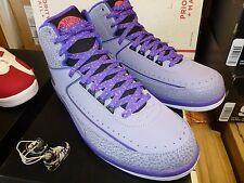 NIKE AIR JORDAN 2 PURPLE EDITION PRELUDE GAMMA SUPREME  GALAXY CONCORD