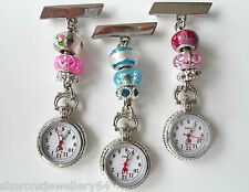 Nurses Charm Fob Watch Also For Beauticians, Healthcare Workers & Vets £7.99