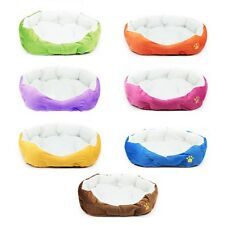 Cute Pet Dog Cat Puppy Cozy Warm Cotton Nest Soft Bed House Fleece Plush Mat Pad