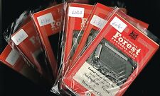 NOTTM FOREST Home Programmes 1951-52 to 1966-67 (from 99p each) Sale!