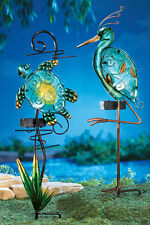 Solar Power Lighted Seashore Decorative Garden Lawn Yard Stakes Water Pond New