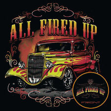 Hot Rod T Shirts Vintage Ford Rat Rod Flames Pinstripes Small to 6X and Tall