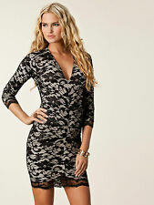 ♚HONOR GOLD♚LACE TOWIE CLUB PARTY SEXY CELEB MINI SHORT EVENING DATE NIGHT DRESS