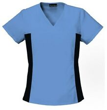 Cherokee Scrubs Flexibles V Neck Scrub Top 2874 Ciel Blue