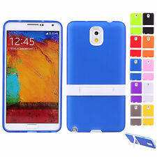 CHEAP SALE Hybrid Soft Snap Back Cover Case With Stand For Galaxy Note 3 III NEW