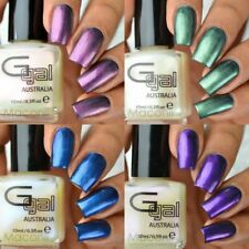 Glitter Gal - Transitions - Soft Blue Green Red Violet Effect Nail Polish 10ml
