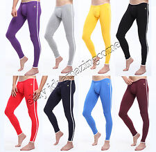 New Sexy Men Cotton Long Johns Thermal Underwear Pants Mens Warm Bottom Trousers