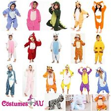 Kids boys girls Unisex Onesies Kigurumi Animal Pajamas Cosplay Costume Sleepwear