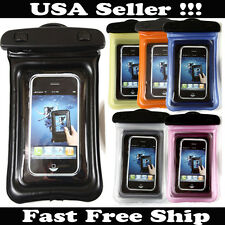 Waterproof Dry Pouch Bag Protector Case Cover For All Cell Phone Universal PDA