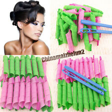 30CM/11INCH SHORT MAGIC HAIR CURLERS ROLLERS CURL FORMERS ONE HOOK FREE SHIPPING