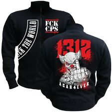 Jacke Sweatjacke ACAB 4 ever joker 1312 ultras fuck kc rap hooligans blood for