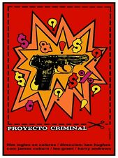 4887.Proyecto criminal.coupon.guns dollar symbols.POSTER.decor Home Office art