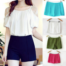 Slae New Women's High Waist Shorts Summer Casual Shorts Short Pants Hot Pants