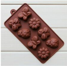 Cake Animals Bee Chocolate Soap Ice Cookie Baking Molds Moulds Silicone New