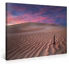 Stretched Canvas Print - COLORS OF THE SAND Large Desert Scenery Wall Art s3813