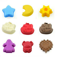 Cute Silicone Cup Cake Muffin Bakeware Mould Food-Grade Party Xmas Baking Mold