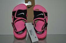 Nike 386520-001 Sunray Adjust Sandals Toddler/Girls Pink/Black See Sizes NWT