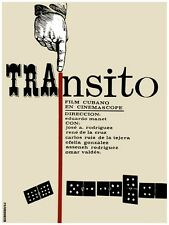 5120.Transito.cuban film.hand playing dominoes.POSTER.decor Home Office art