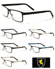 Mens Clear Lens Designer Glasses 0 Rx Non Prescription European Fashion Eyewear