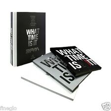 2PM - WHAT TIME IS IT : 2PM LIVE TOUR DVD [DVD+PhotoBook+Gift Photo)