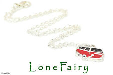VW Camper Van necklace or keyring