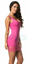 women LACE Coqueta Tube party Dress Strechable  Spandex  tight fitted mini dress