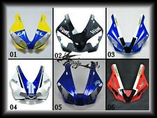ABS Upper Fairing For Yamaha 2000-2001 YZF R1 YZF-R1 YZFR1 R1000 Blue Yellow B