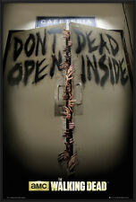 "THE WALKING DEAD - FRAMED POSTER / PRINT (DON'T OPEN DEAD INSIDE) (24"" X 36"")"