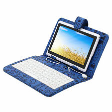 "iRulu Tablet PC 7"" Android 4.2 16GB Dual Core&Cam WIFI White w/ Cartoon Keyboard"