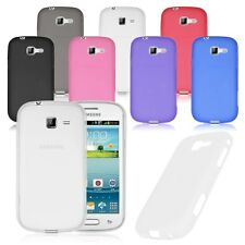 Soft TPU Gel Case Cover For Samsung Galaxy Fresh Lite Trend Duos GT S7390 S7392