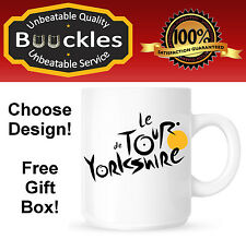 Tour de France Yorkshire Cycling Enthusiast Mug Gift Present Personalised Bike