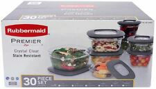 NEW-Rubbermaid Premier*30 Piece Set Food*BPA FREE*Plastic Storage Container