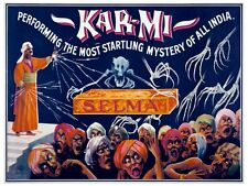 5568.kar-mi.performing startling mystery of all india.POSTER. Home Office decor