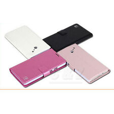 Leather Folio Wallet Flip Case Cove for Huawei Ascend D2 (4 colors) a