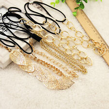 Women Fashion Punk Style Metal Head Chain Jewelry Headband Head Piece Hair Band