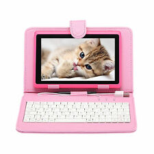 "IRULU 7"" Tablet PC 8GB Android 4.2 Dual Core & Cameras A23 1.5GHz with Keyboard"
