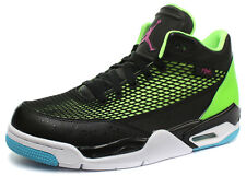 Nike Air Jordan Flight Club 80's Black/Lime Mens Basketball Shoes ALL SIZES 032