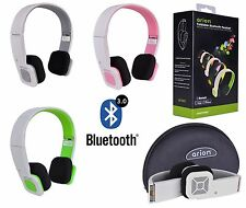 Wireless Bluetooth Stereo Earbuds Headset with Mic Headphones for Android-iPad