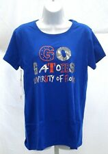 Florida Gators Ladies Short Sleeve T-Shirt Campus Couture Royal Go Gators
