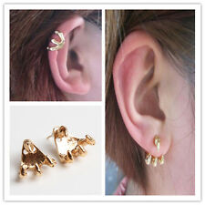 Chic Vintage Gothic Punk Rock Metal Eagle Claw Style Ear Stud Piercing Earrings