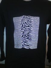 JOY DIVISION UNKNOWN PLEASURES LONG SLEEVED SHIRT factory records ian curtis